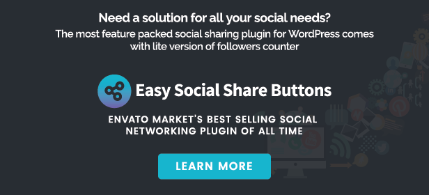 Hello Followers - Social Counter Plugin for WordPress - 3